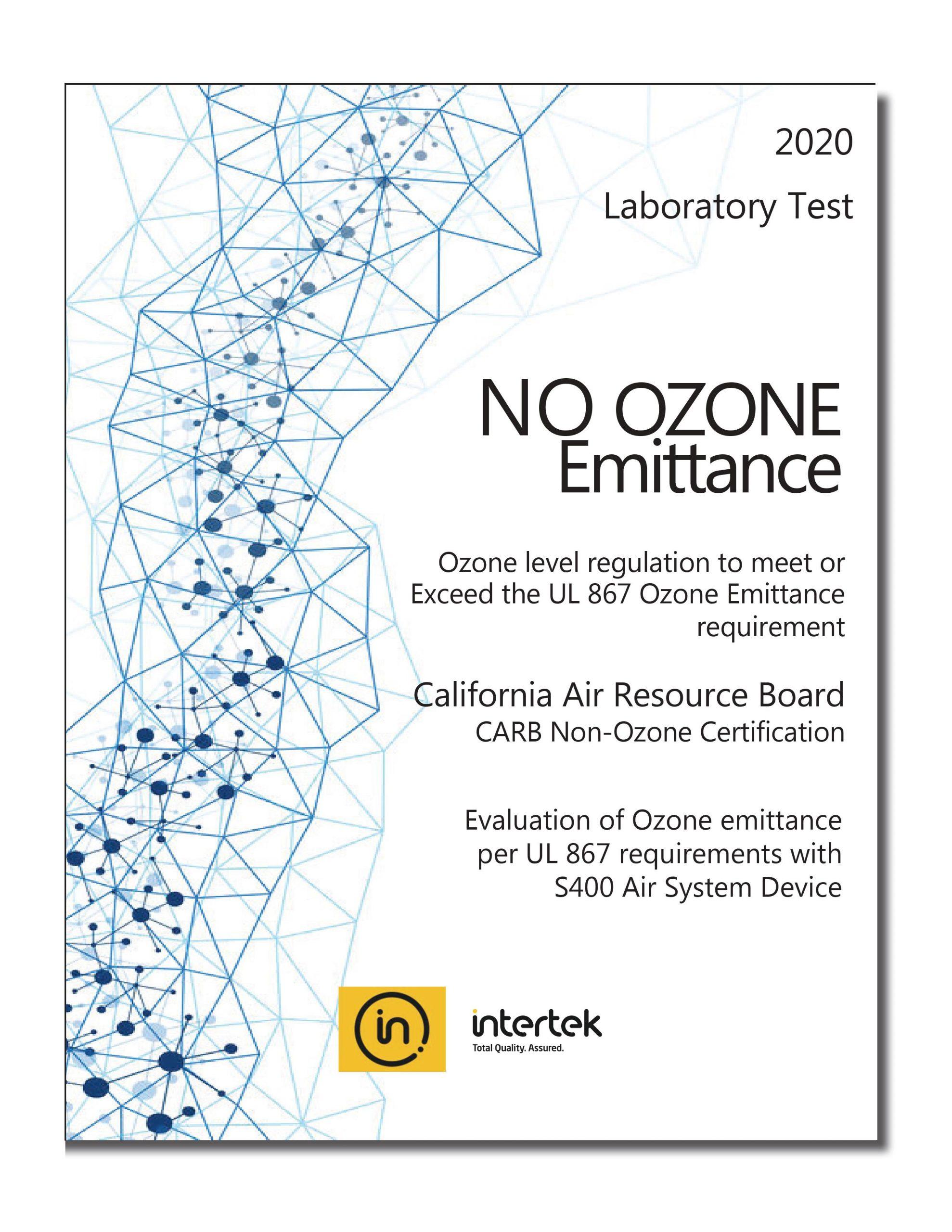 No Ozone Emittance